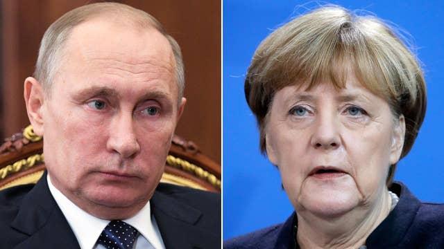 Trump says he will start first term trusting Putin, Merkel