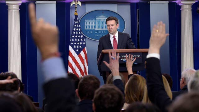 Why location matters for the White House press corps