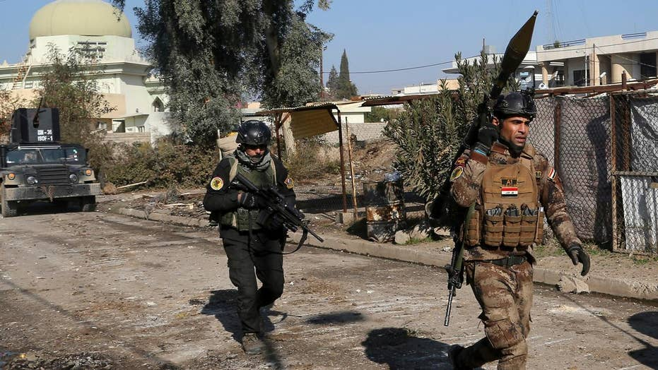 Fierce clashes between Iraqi forces and ISIS in Mosul