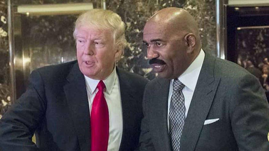 Steve Harvey Pushes Forward On Deal With Trump