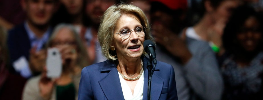 Donald Trump's pick for Secretary of Education to testify before Senate committee