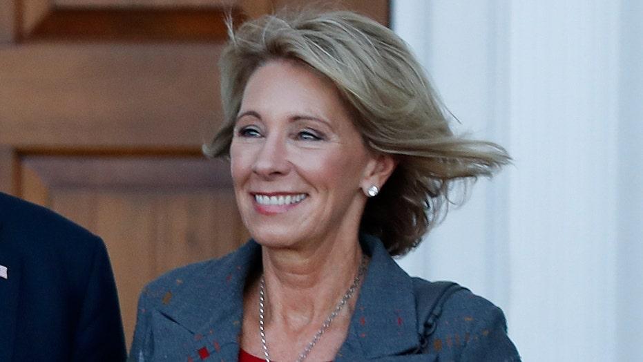 Dems target Secretary of Education nominee Betsy DeVos