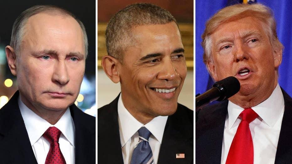 Putin accuses Obama administration of undermining Trump