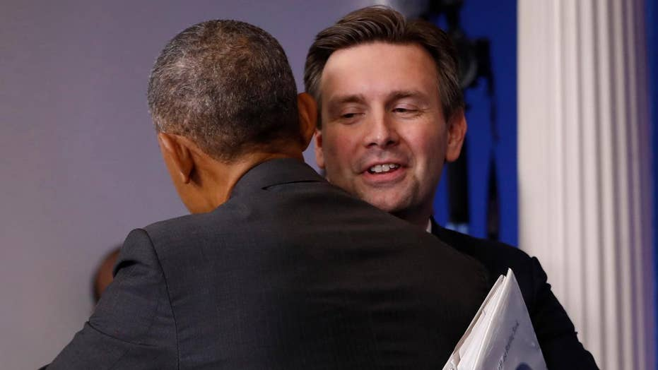 Josh Earnest reflects on time as White House press secretary
