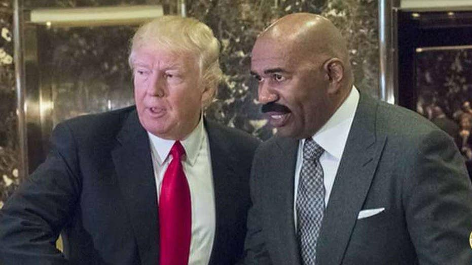 New backlash after Steve Harvey meets with Trump