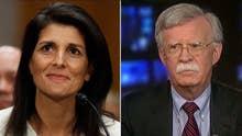 Amb. Bolton critiques Nikki Haley's confirmation hearing