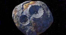 'Red Eye' reacts to discovery of giant space rock composed of nickel and iron