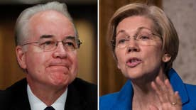 Massachusetts Democrat questions President-elect Trump's pick for HHS secretary on details of stock trade