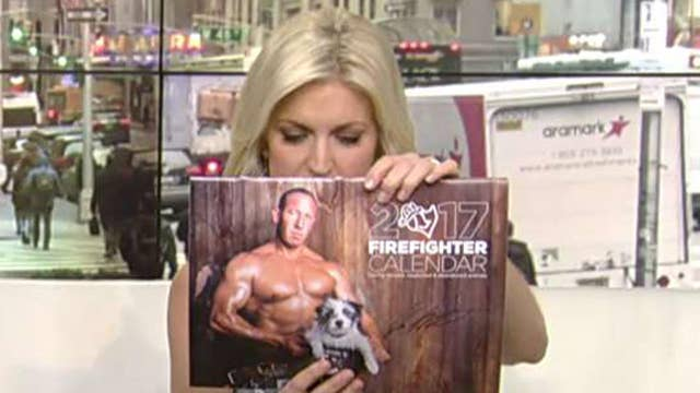 After the Show Show: Charleston Firefighter calendar