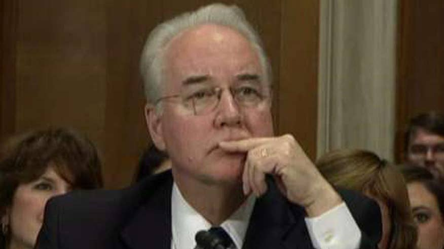 HHS nominee grilled on investments at Senate confirmation hearing