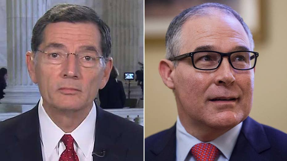Sen. Barrasso: Pruitt the right choice to rein in rogue EPA