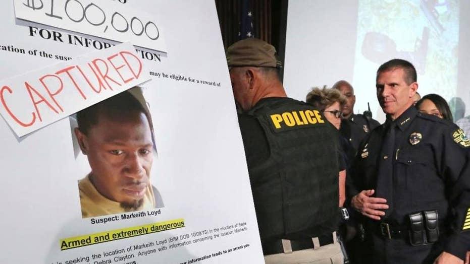 Manhunt ends for accused Orlando cop killer