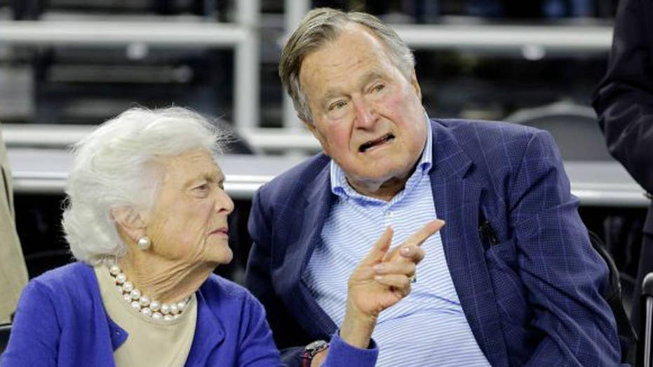 George H. W. Bush moved to ICU, Barbara Bush hospitalized