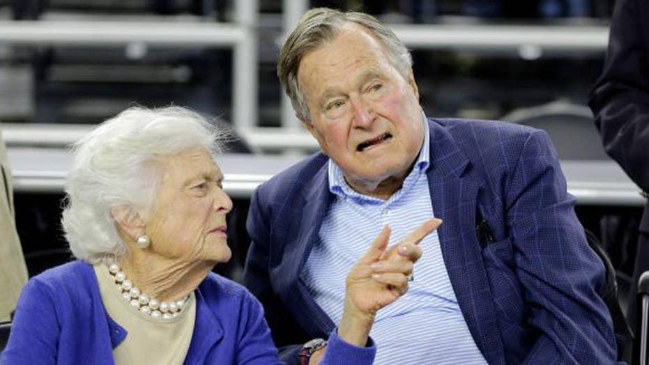 George H. W. Bush moved to ICU, Barbara Bush hospitalized