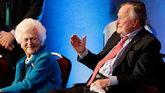 George HW Bush, Barbara Bush hospitalized