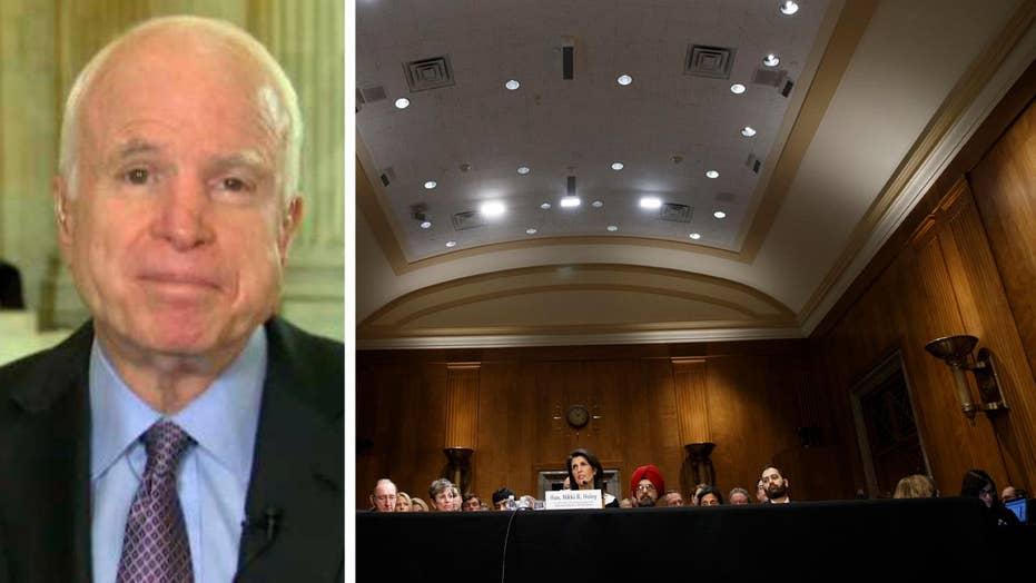 Sen. McCain: Democrats have slowed Trump confirmations