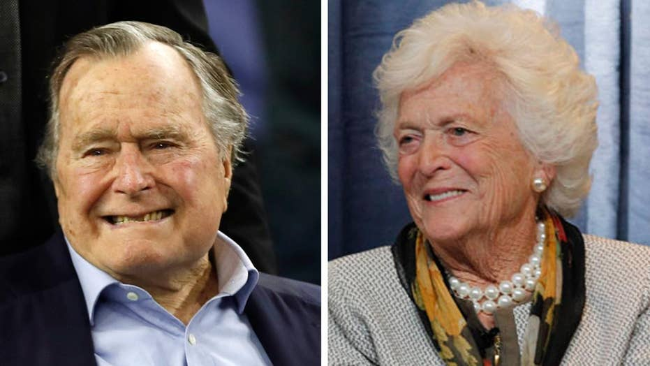 Former President George H.W. Bush and his wife hospitalized