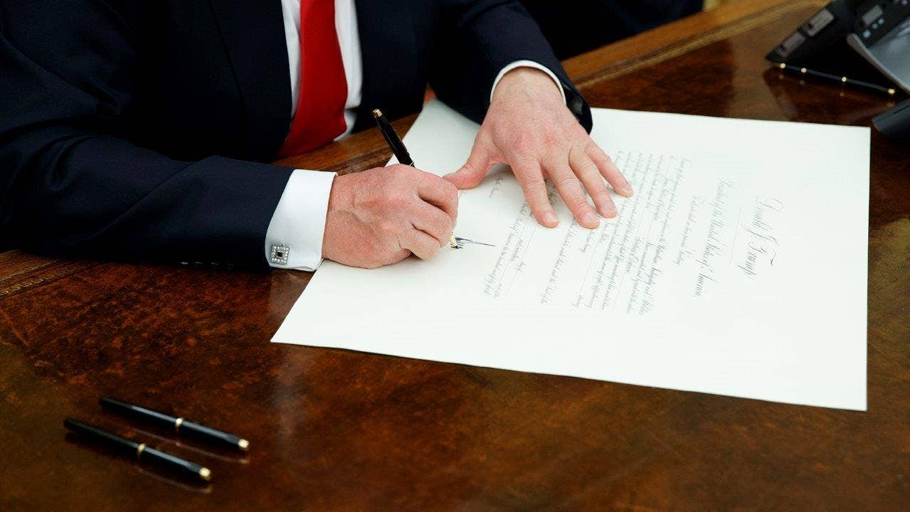 Text of President Trump's ObamaCare executive order