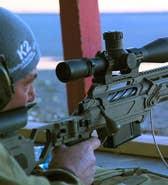 Fox Firepower: Allison Barrie gets a first-hand look at the new Cadex CDX-MC KRAKEN Multi-Caliber rifle