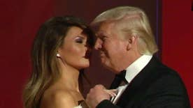 The first couple attend the Liberty Ball