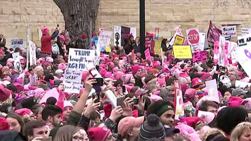Jennifer Griffin reports from the National Mall