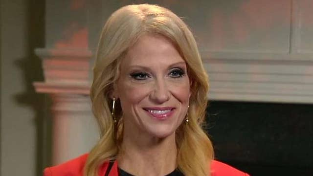 Kellyanne Conway calls on the media to give Trump a chance