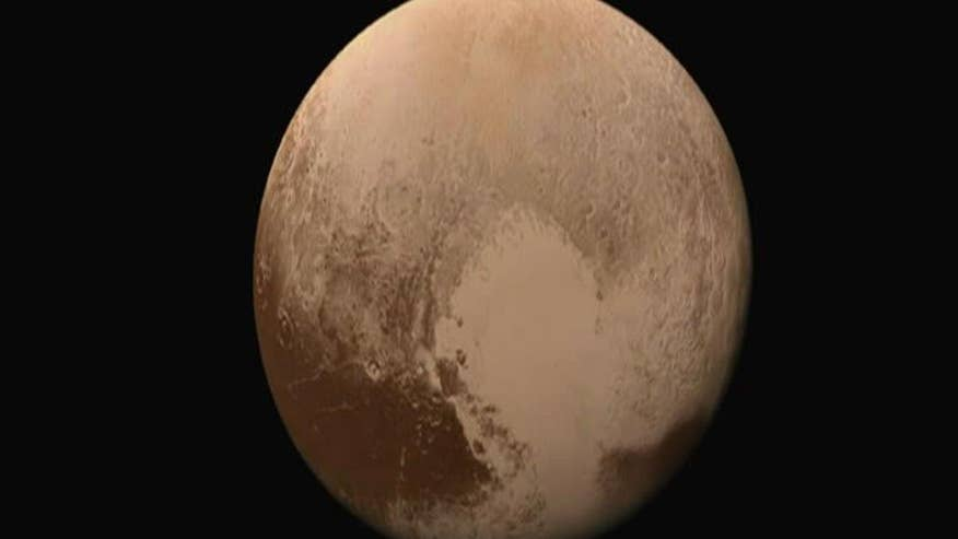 Detailed images taken by New Horizons spacecraft revealed in new NASA video, showing surface and potential landing on the dwarf planet Pluto