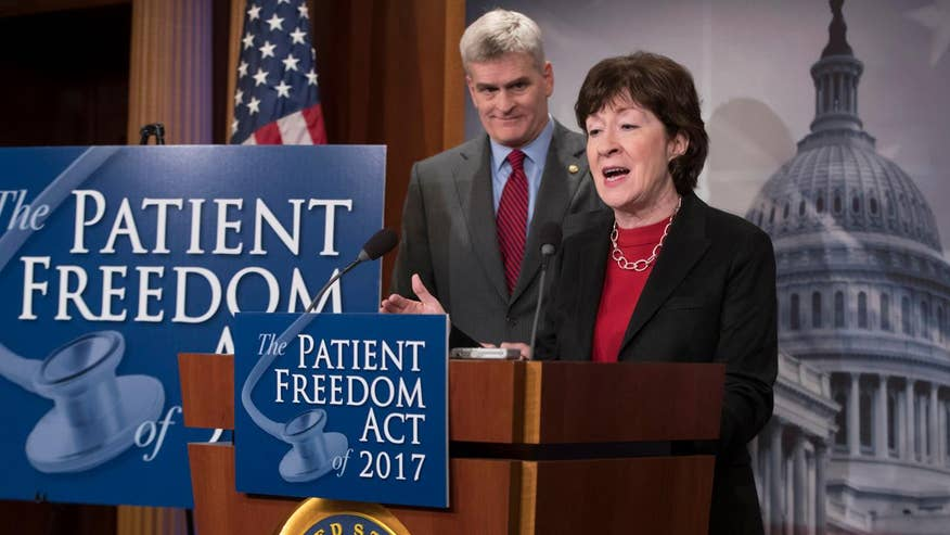 Strategy Room: Brad Bauman and Brian Morgenstern weigh in on senators Susan Collins and Bill Cassidy's ObamaCare replacement plan