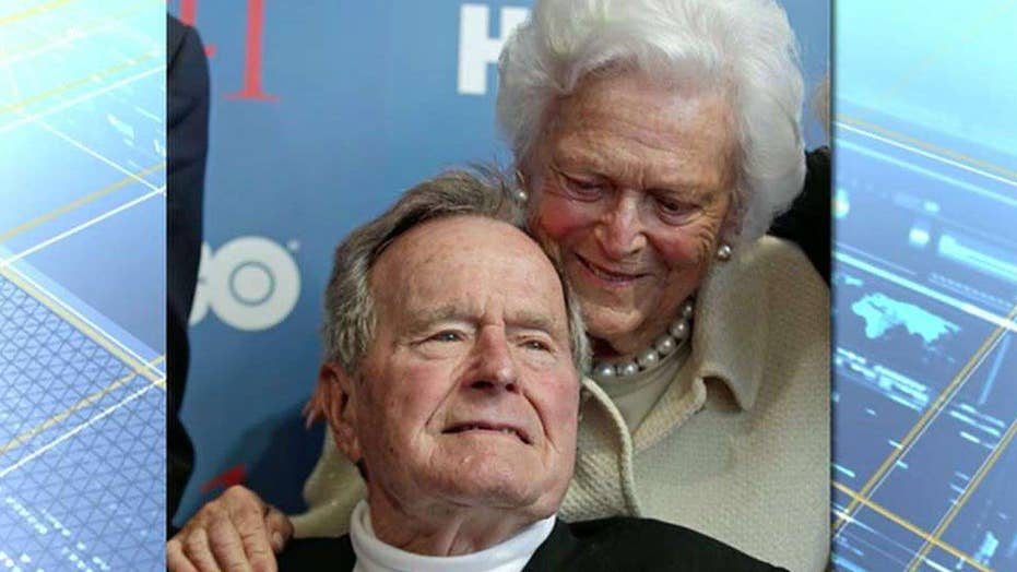 Former President Bush cleared from ICU