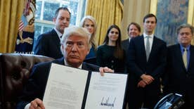 The president signed orders to streamline the permitting and manufacturing process for pipelines and additional infrastructure projects; John Roberts reports for 'Special Report'