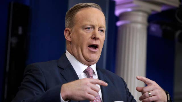 Sean Spicer hits reset button with the press
