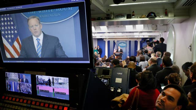 Media silent as White House comment line disappears