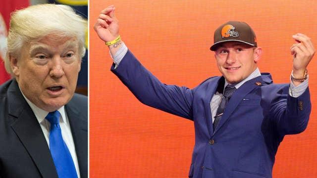 Johnny Football 'advises' President Trump