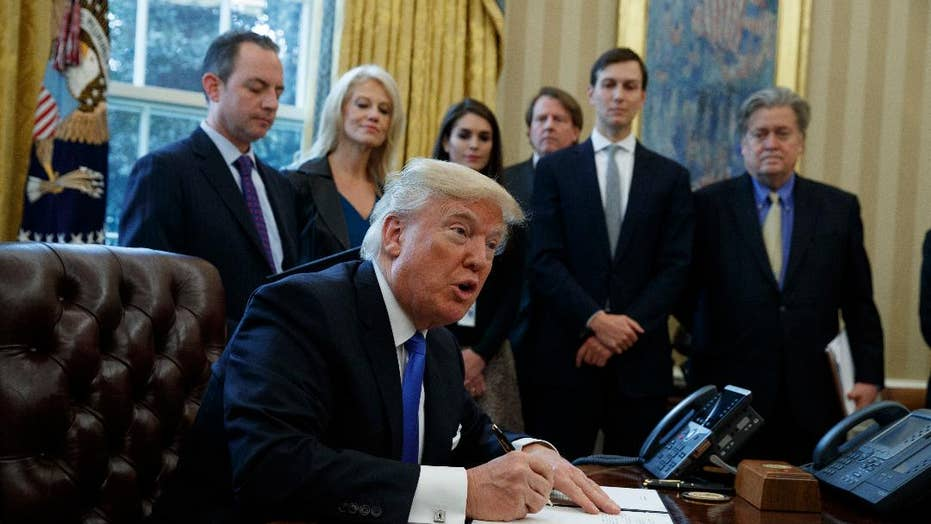Trump signs exec. orders for Dakota Access Pipeline