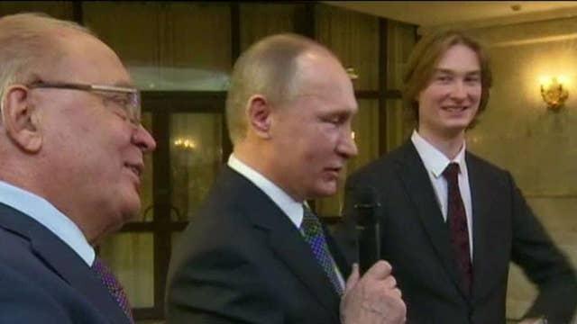 Putin sings! Russian president unveils surprising talent