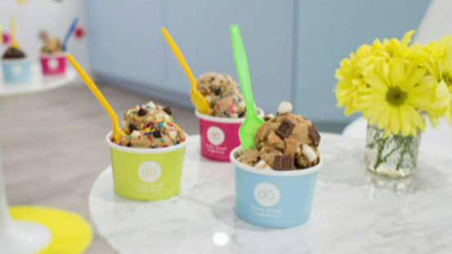 New cookie dough shop opens in NYC