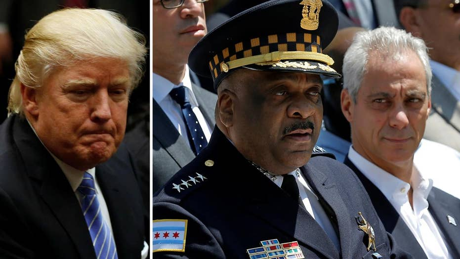 Can the president send 'the feds' to end Chicago violence?