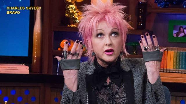 Cyndi Lauper: Madonna went too far