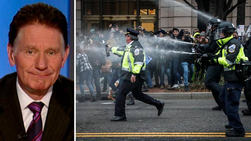 Fox News executive vice president and executive editor reacts to arrests at anti-Trump riots