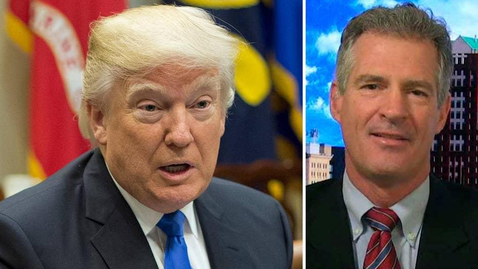 Scott Brown to Democrats: Let President Trump do his job