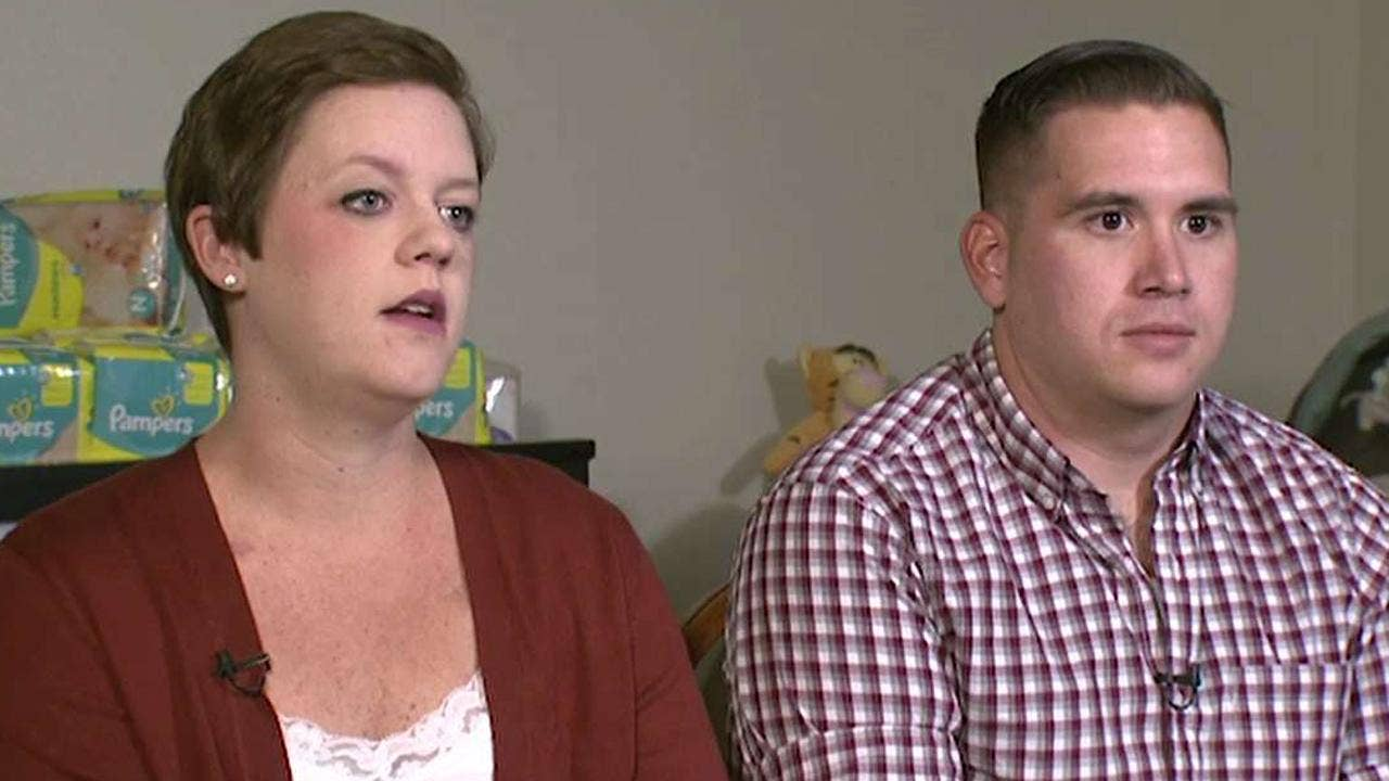 A fairytale wedding, cancer diagnosis then a blessing: A military couple's medical miracle