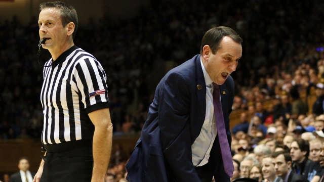 Coach K bans Duke from locker room, forbids wearing apparel