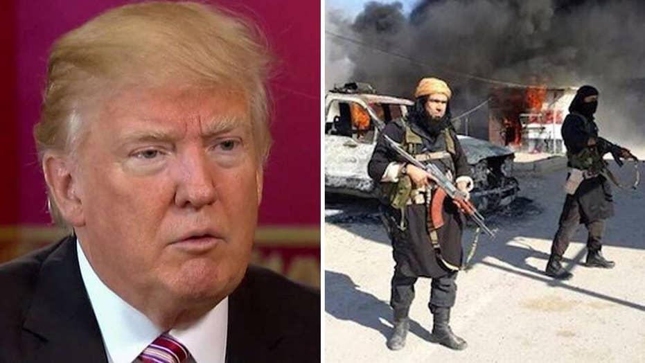Trump on combating terror: We're fighting 'sneaky rats'