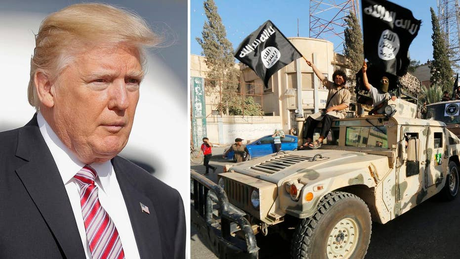 Trump to reportedly order Pentagon to ramp up ISIS fight