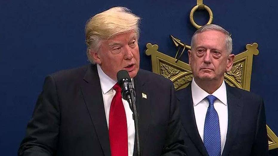 Trump: Our military strength will be questioned by no one
