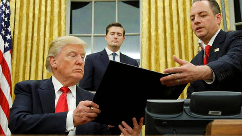 President Trump's refugee executive order under fire