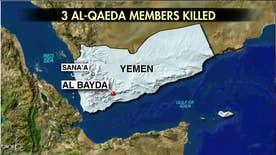 Troops were conducting raids on Al Qaeda