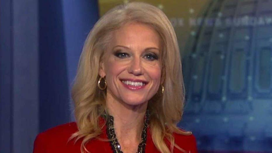 Conway defends Trump's executive actions, slams media bias