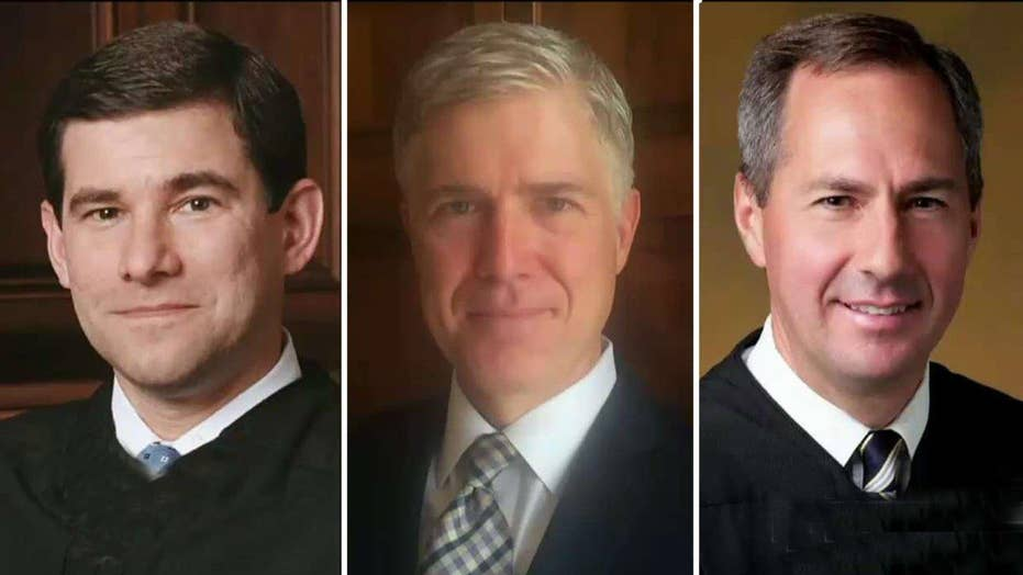 Three judges emerge as frontrunners for Supreme Court pick