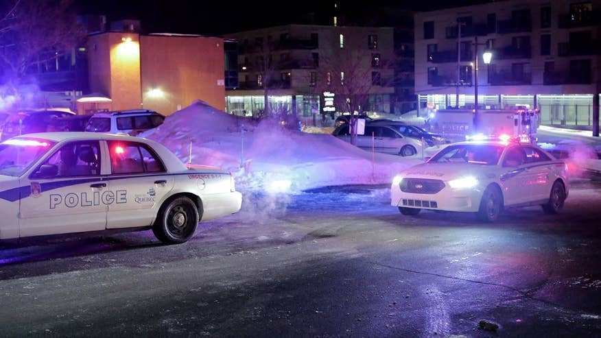 Six killed at Islamic culture center in Quebec